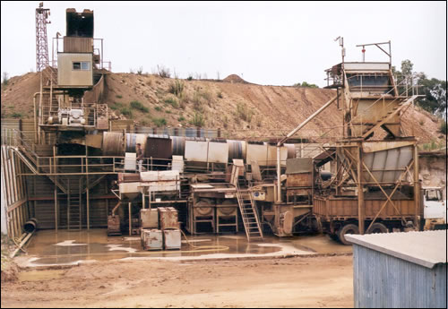 Mine Site & Grading Room - Wilson Gems & Investment